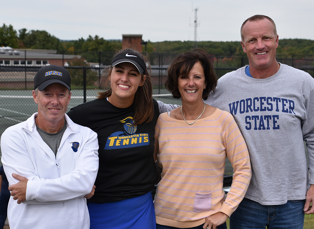 Women's Tennis Defeats UMass Dartmouth on Senior Day