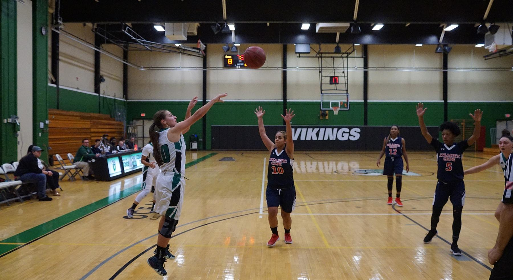 Vikings Women's Basketball Loses Battle to Lehigh Carbon CC, 55-34