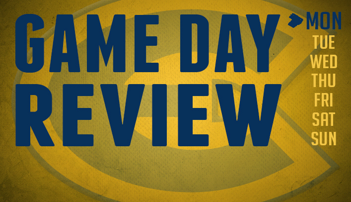 Game Day Review - Monday, April 21, 2014