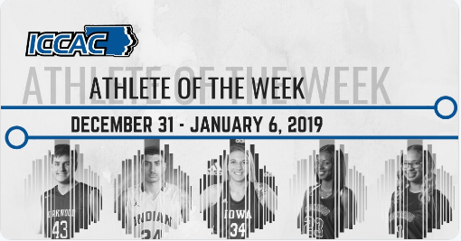 Appel named ICCAC Athlete of the Week