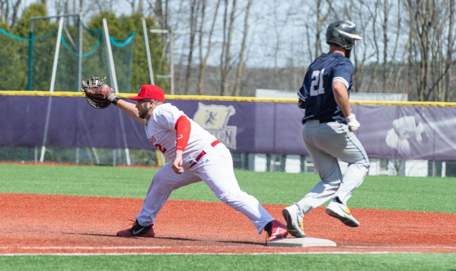 D'Youville Drops Doubleheader to Penn State-Behrend at Home