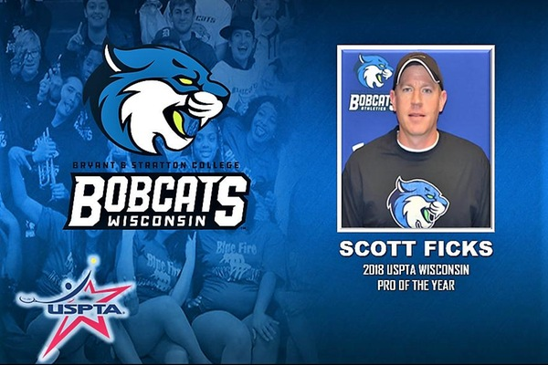 BSC coach Scott Ficks honored with USPTA Wisconsin Coach of the Year