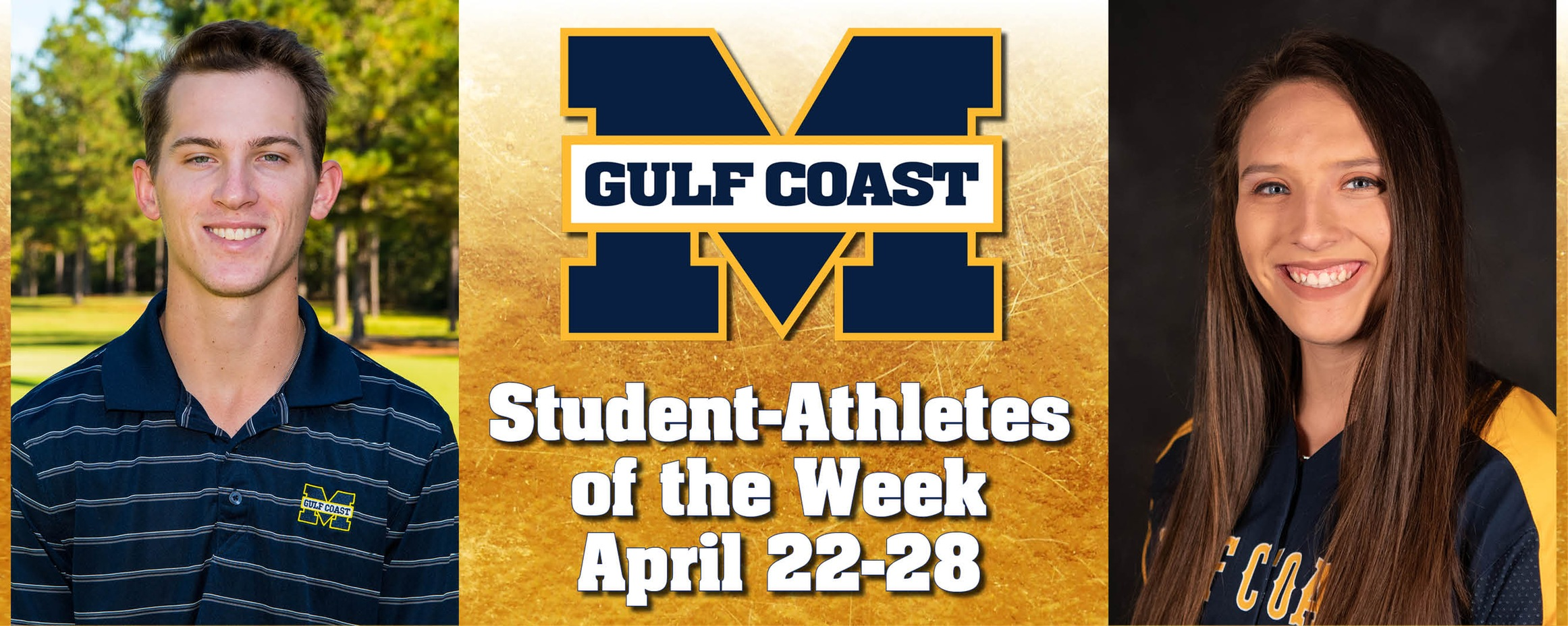 Wilkinson, Cade named MGCCC Student-Athletes of the Week