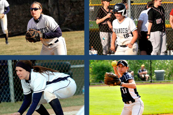 Softball splits with Bowdoin on Senior Day