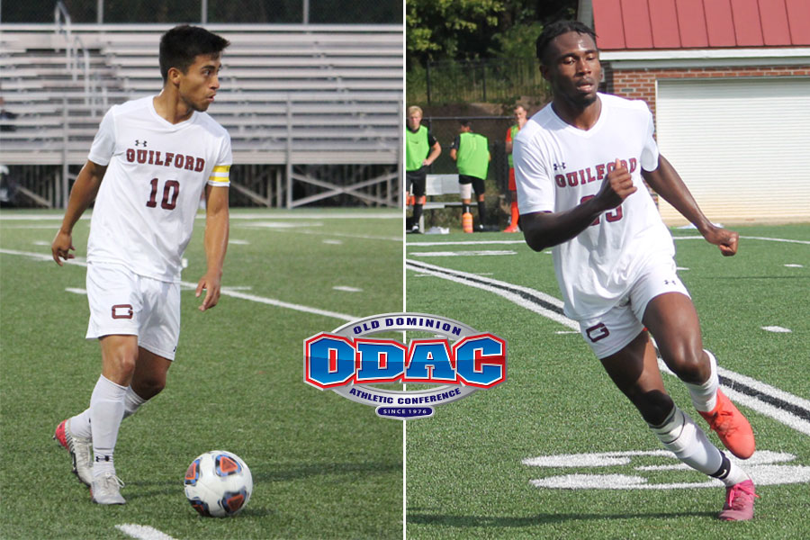 Guilford's Aguilar and Nzekwe Earn First-Team Soccer Honors