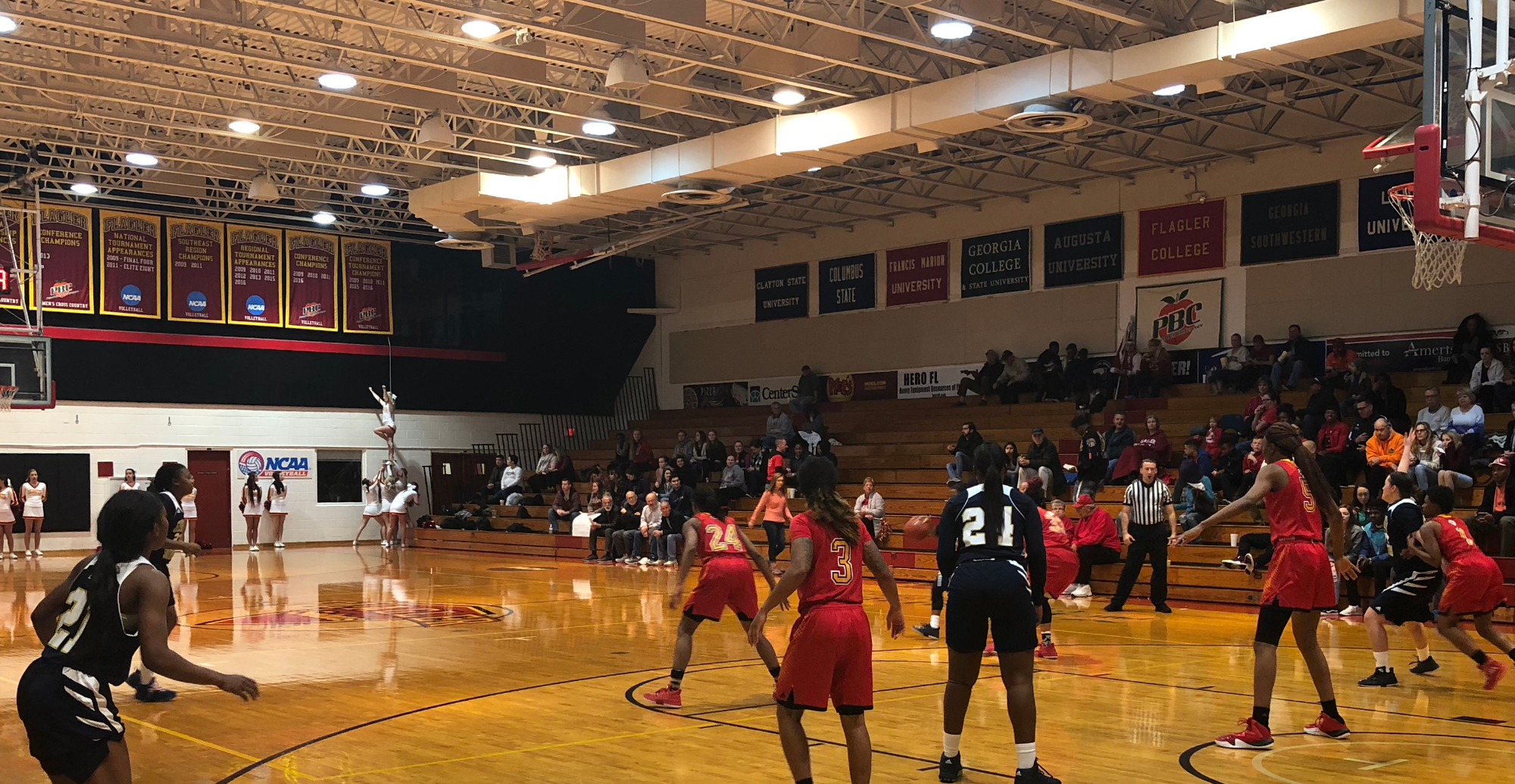Saints Too Strong Early, Defeat Lady Canes In St. Augustine
