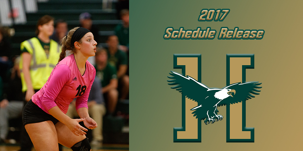 Women's Volleyball Releases 2017 Schedule