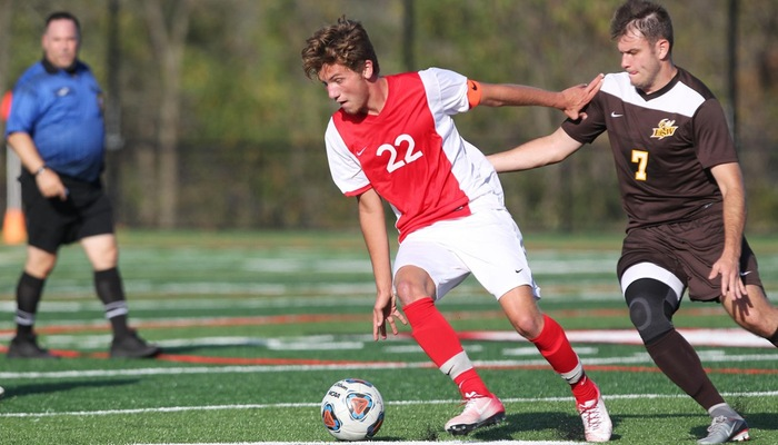 Mount Union Soars Past Men's Soccer