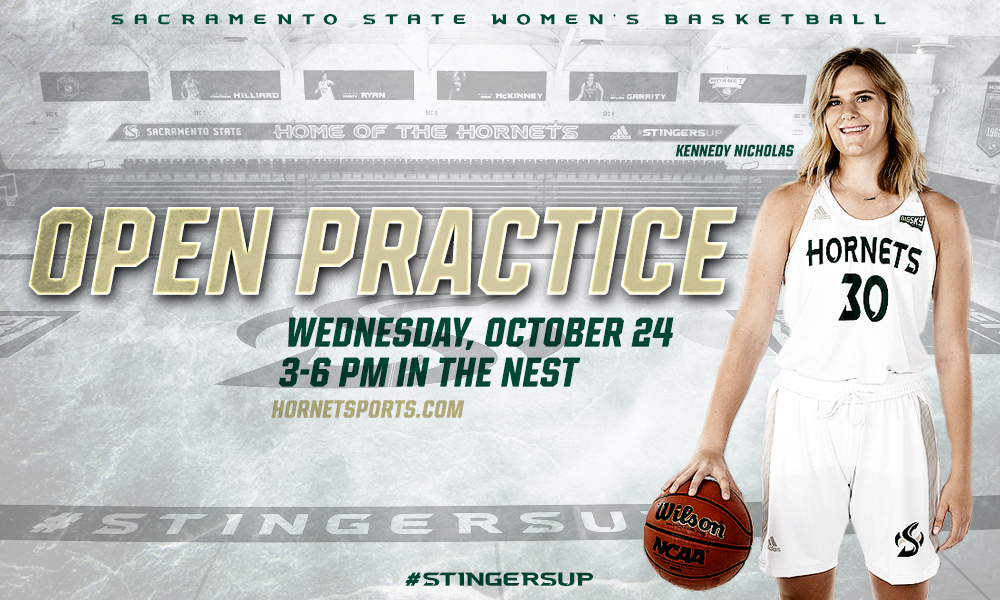 WOMEN'S HOOPS HOLDING OPEN PRACTICE IN THE NEST, WEDNESDAY, OCT. 24