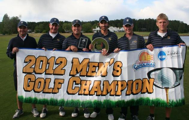 Coker College Men's Golf Receives GCAA All-Academic Award