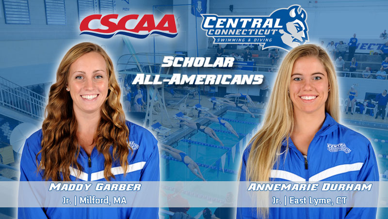 Garber, Durham Earn CSCAA Scholar All-America Recognition