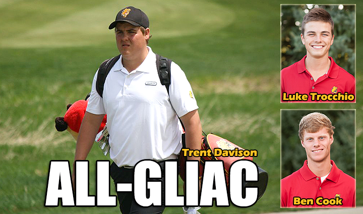 Three Men's Golfers Claim All-GLIAC Recognition