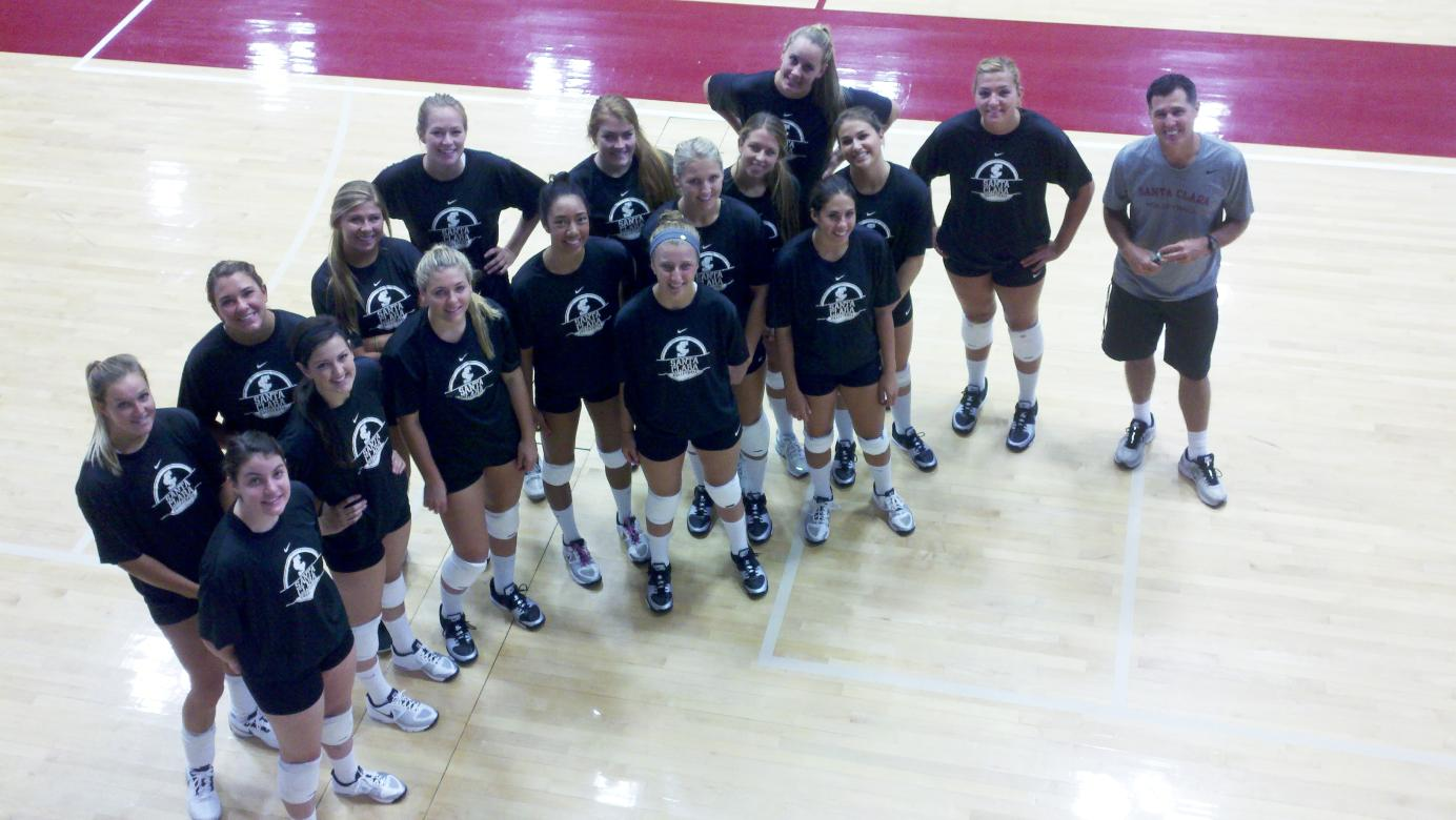 Bronco Volleyball Starts Practice For 2012 Opener