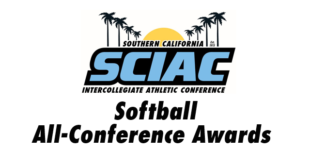 SCIAC Is Proud to Announce the Softball All-Conference Awards