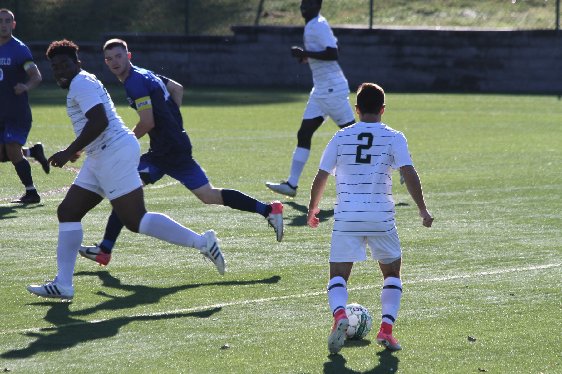 Lesley Edges Men's Soccer In Overtime