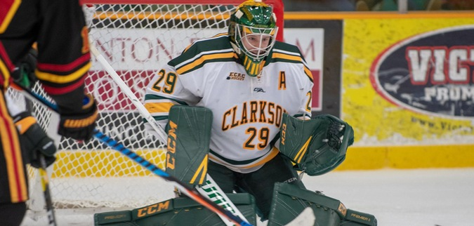 Clarkson blanks Dartmouth to close out four game road trip