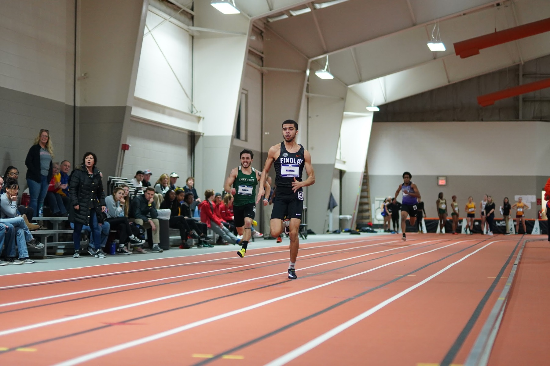 Marable Sets New Conference Record