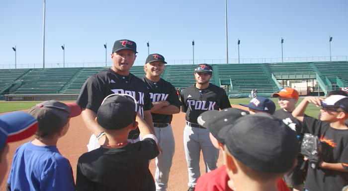 Eagles Spend First Day of World Series Travels Giving Back to Others
