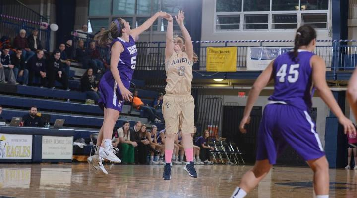 Juniata Drops Home Game to Scranton, 76-52