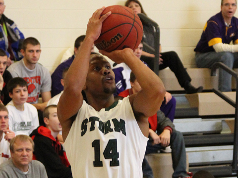 Storm Basketball Pulls Out First Conference Victory at Tiffin
