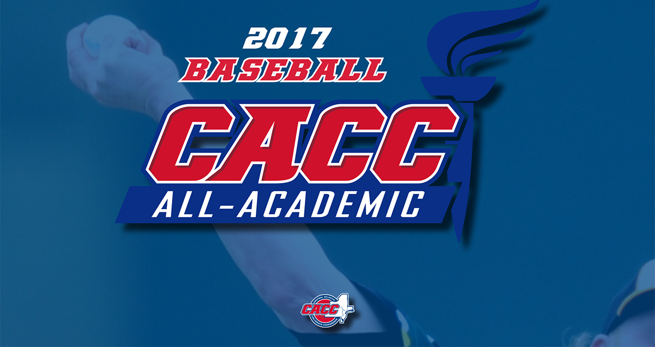 FIVE BASEBALL PLAYERS NAMED TO CACC ALL-ACADEMIC TEAM