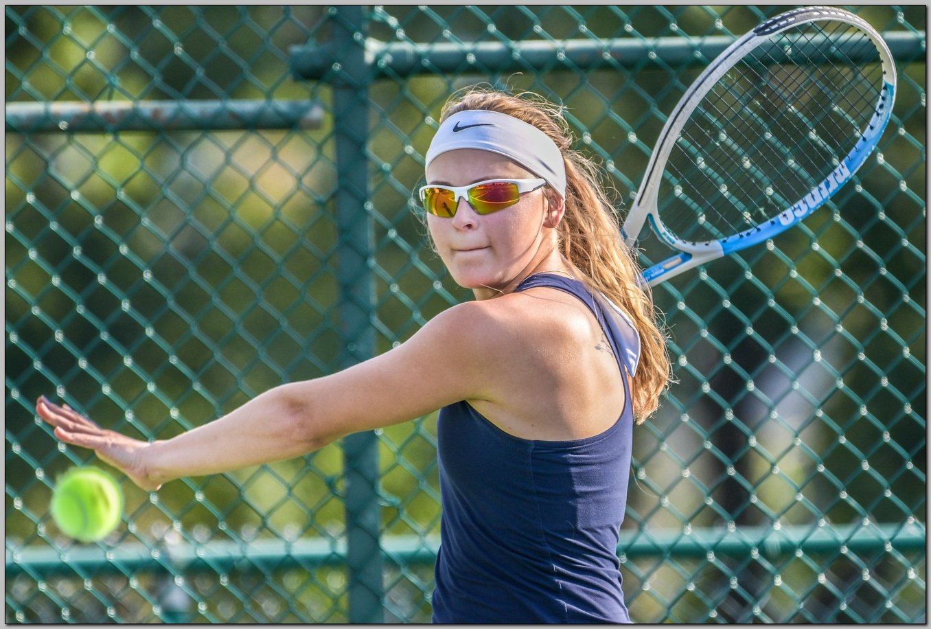 Women's tennis defeated by Rose-Hulman Fighting Engineers
