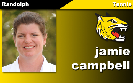 Campbell Takes Reins of Randolph Tennis