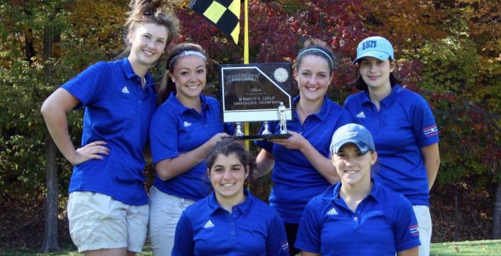 Women's Golf wins NAC Championship in convincing fashion