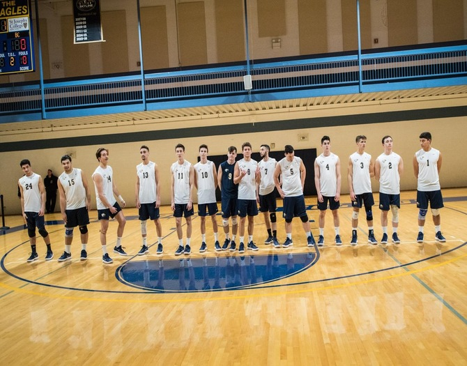 Men's Volleyball Picks up a Pair of Wins