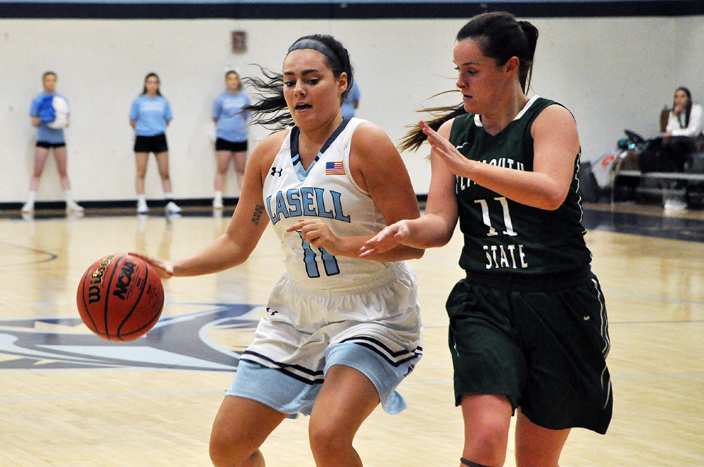 Lasell Women's Basketball hands Plymouth State first loss of season