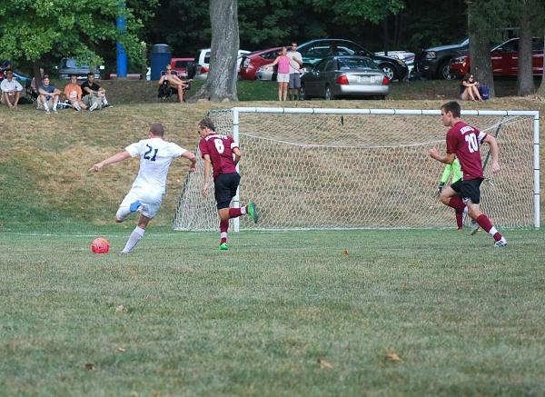 Men's Soccer Starts Home Play Strong...