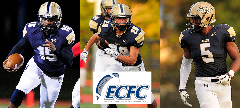 Three Bison earn ECFC Player of the Week honors