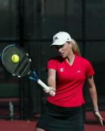 Women's Tennis Notches 4-3 Win over Davidson