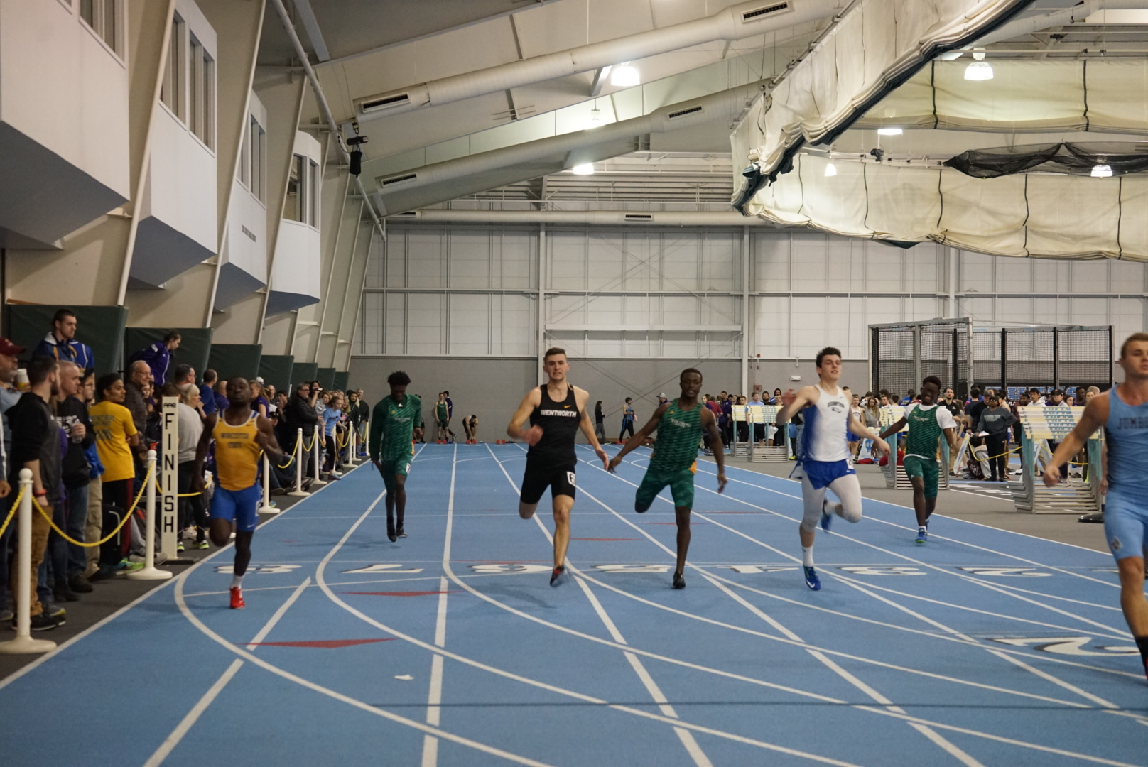 Indoor Track Competes at New England Championships