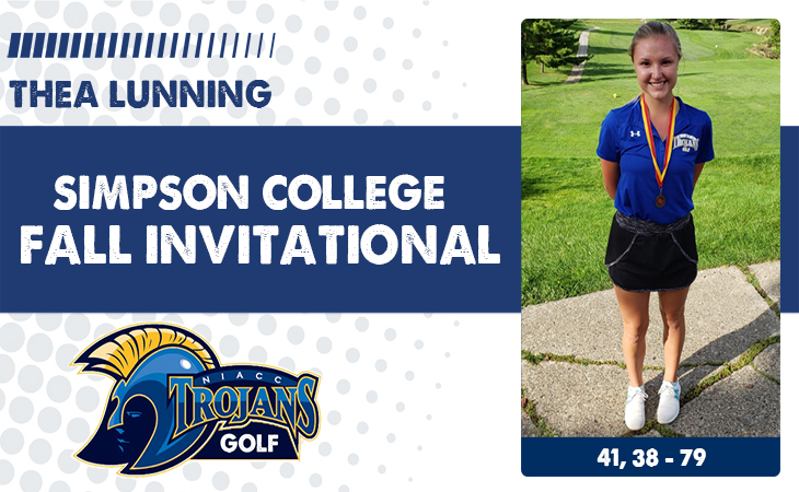 NIACC places third at Simpson Fall Invite