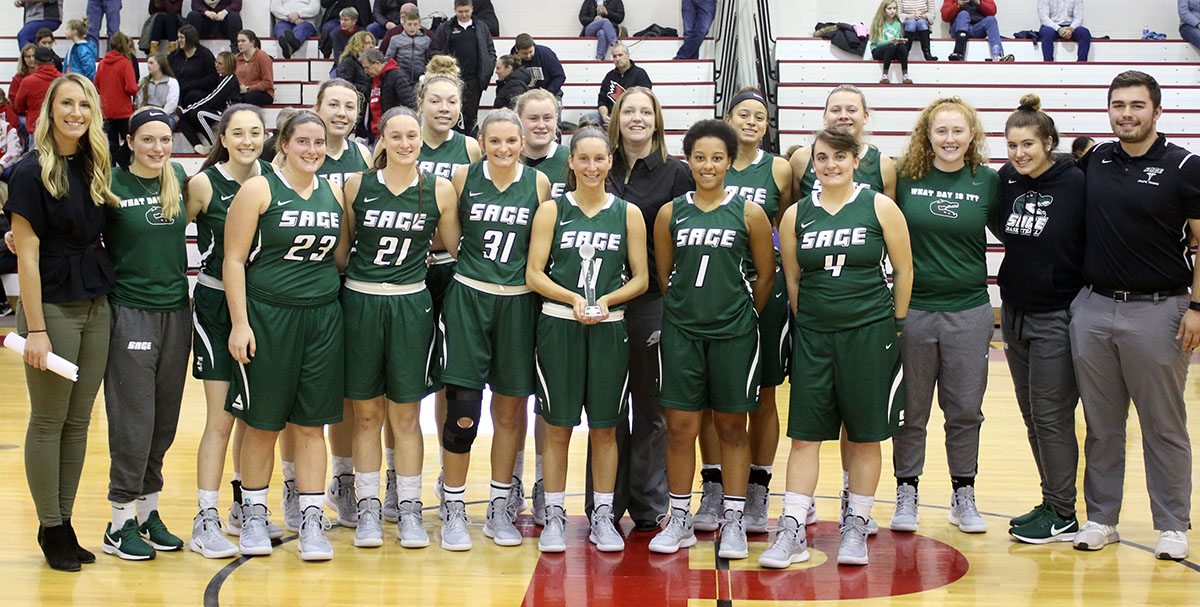 Sage women's basketball to hold Columbus Day Skills Clinic on Oct. 14!