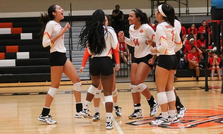 Lady Suns Breeze Past SWAU in Straight Sets