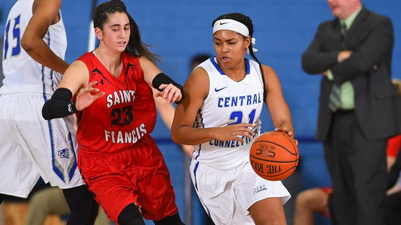 Women's Basketball Edged By Saint Francis, 72-70, Monday Afternoon