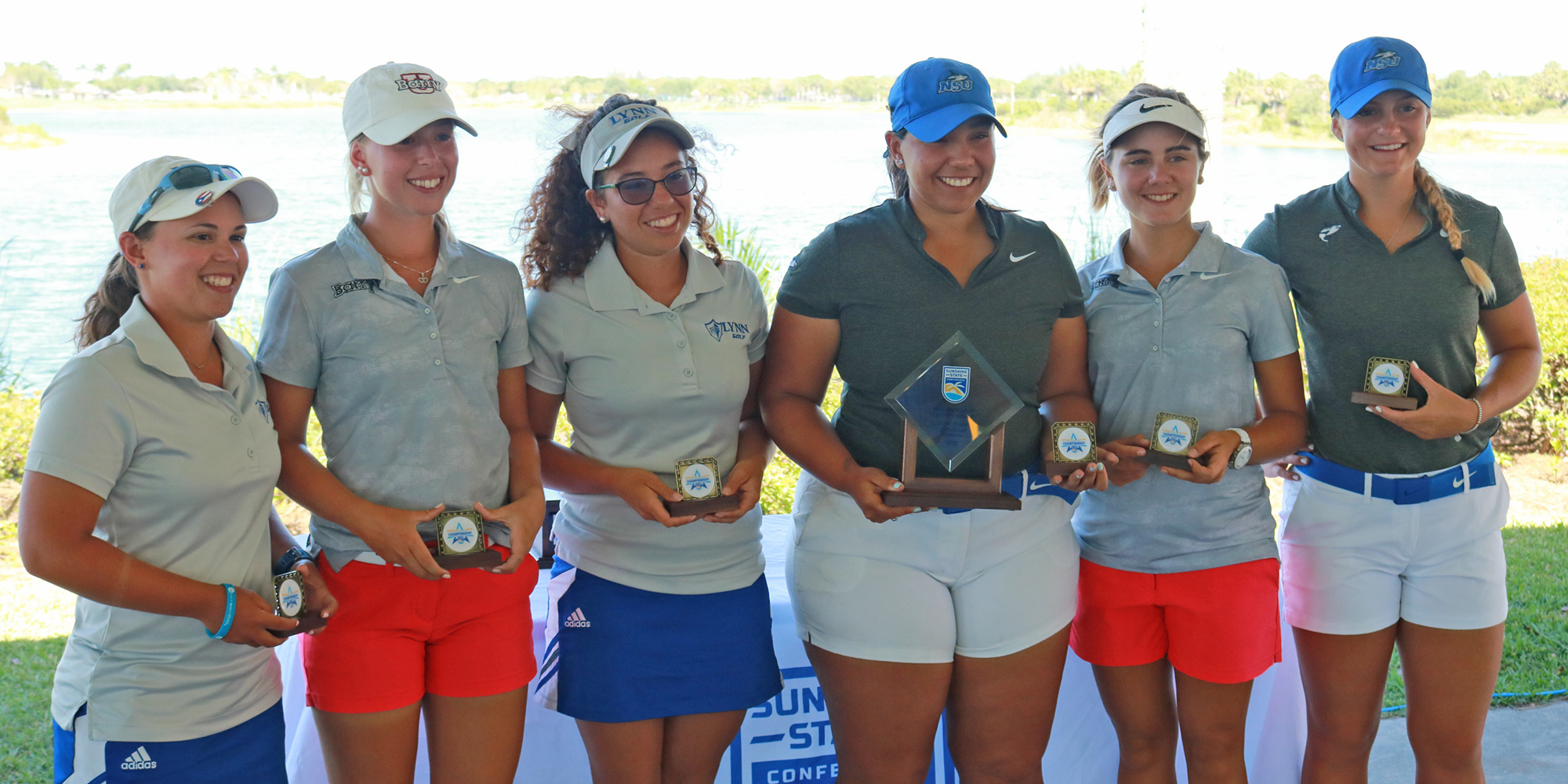 Ortiz and Ayala Collect SSC All-Tournament Honors for Women's Golf