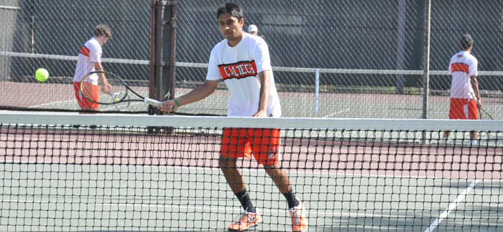 Tigers Record 8-1 Win Against Caltech