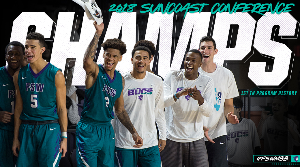 #FSWMBB Secures Program's First Conference Title With Win At HCC