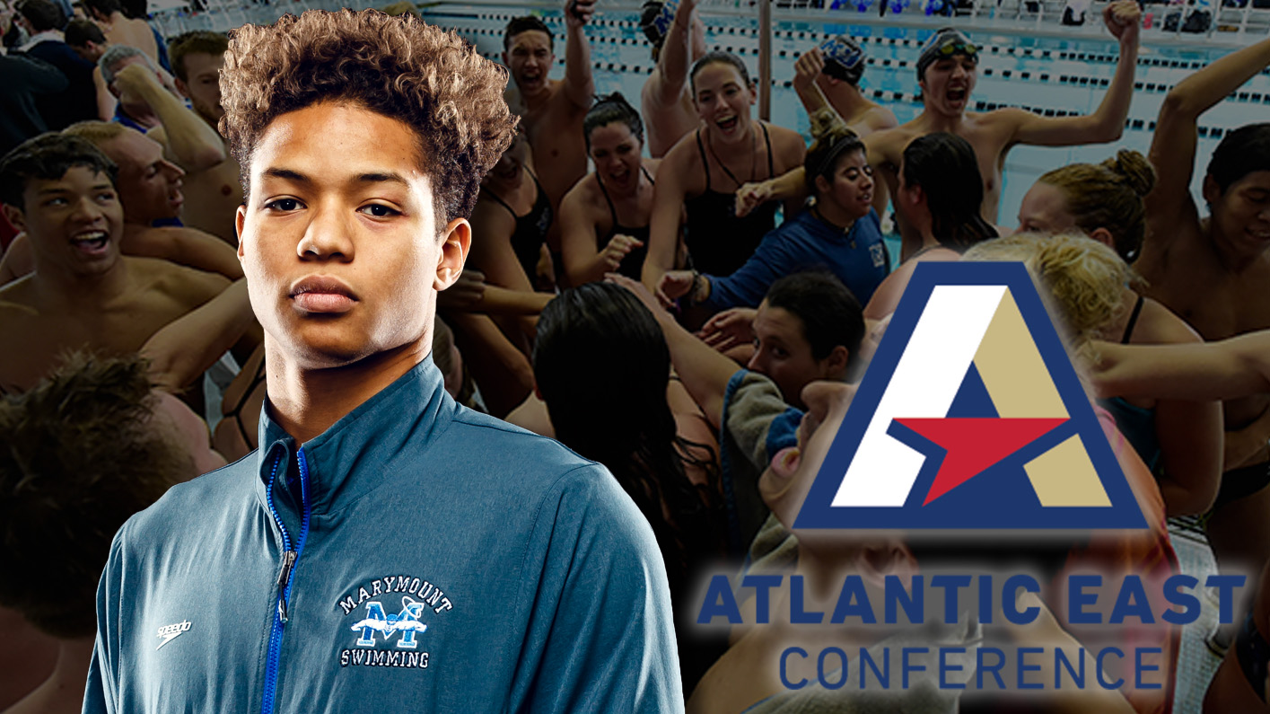 Jones earns first-ever Atlantic East Swimmer of the Week