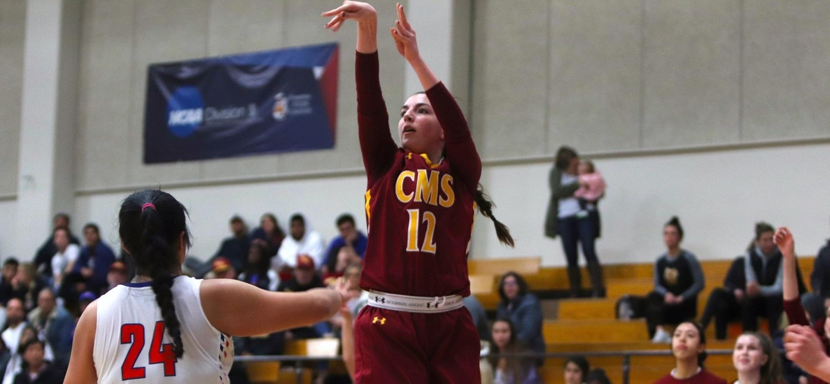 CMS Women's Basketball Ousts Whittier 75-55 On The Road to Clinch 11th Straight Win