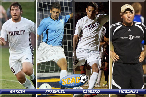 Trinity's Garcia; DePauw's Sprenkel highlight 2010 All-SCAC Men's Soccer Team