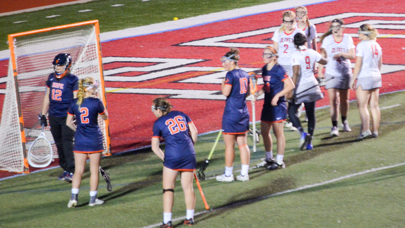 Women's lacrosse team beaten by Hope, 25-1