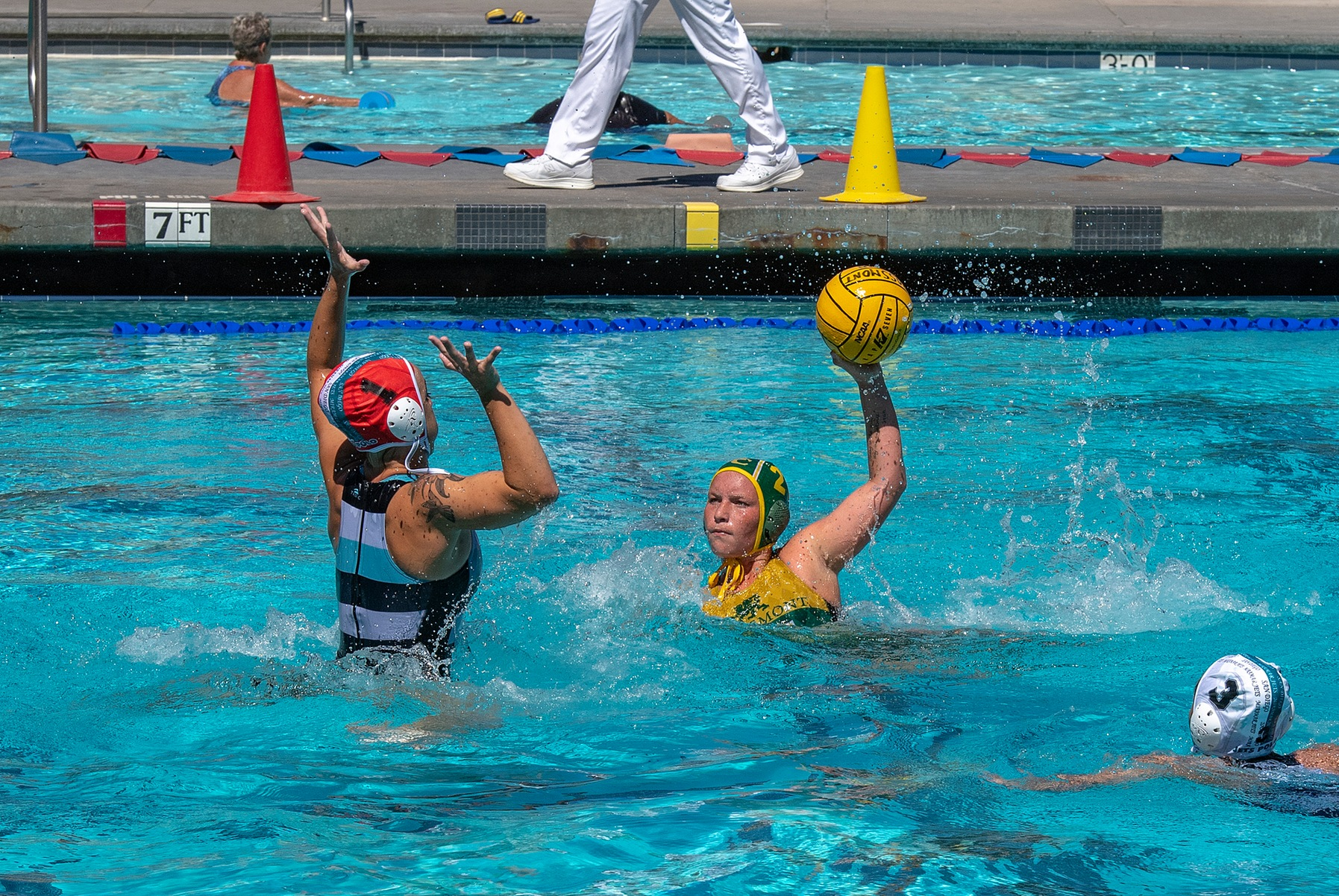 GRIFFIN WATER POLO SWEEPS SOUTHWESTERN