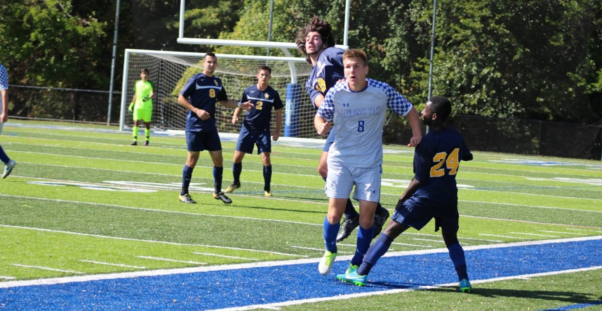 Photo for Blue Devils Hold on for 3-2 Double Overtime Win at Indiana Tech