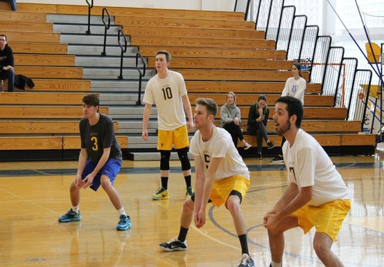 GISBRECHT EARNS 100TH COACHING VICTORY AS ELMS DOWNS MEN'S VOLLEYBALL, 3-0