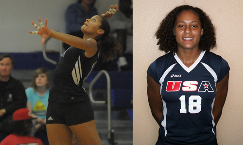 Brooke Seaman will be a part of USAAI volleyball in Argentina