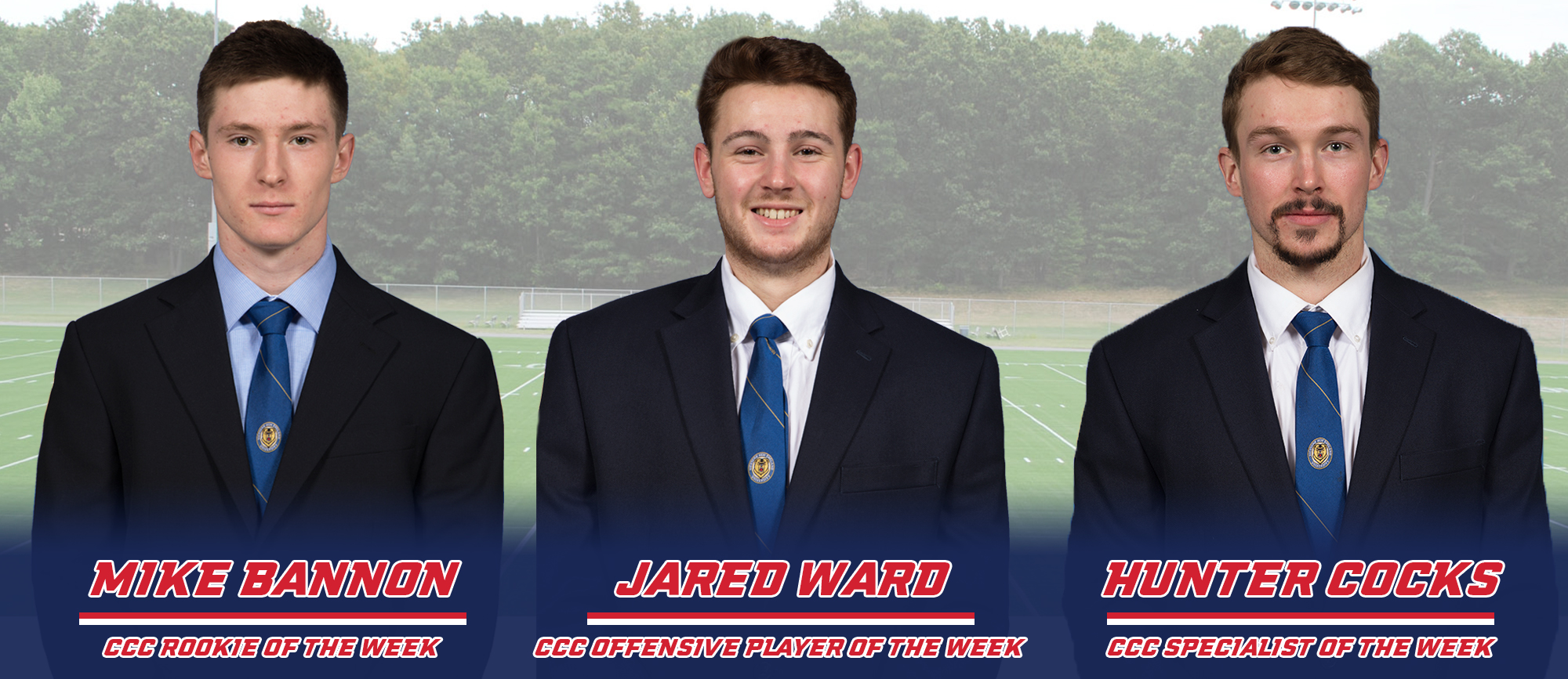 Three Golden Bears Receive CCC Weekly Lacrosse Awards